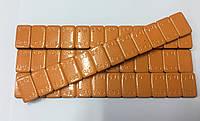 Вантаж самоклеючий помаранчевий 60г., (низькопрофільний) блакитна стрічка, помаранчевий(колір)60-6