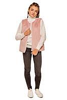 Меховая жилетка на девочку Морган (7-12 лет)