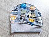 """Комлект """"Super Hero""""(распашенка, ползунки и шапка) TM Merry Bee, фото 4"""