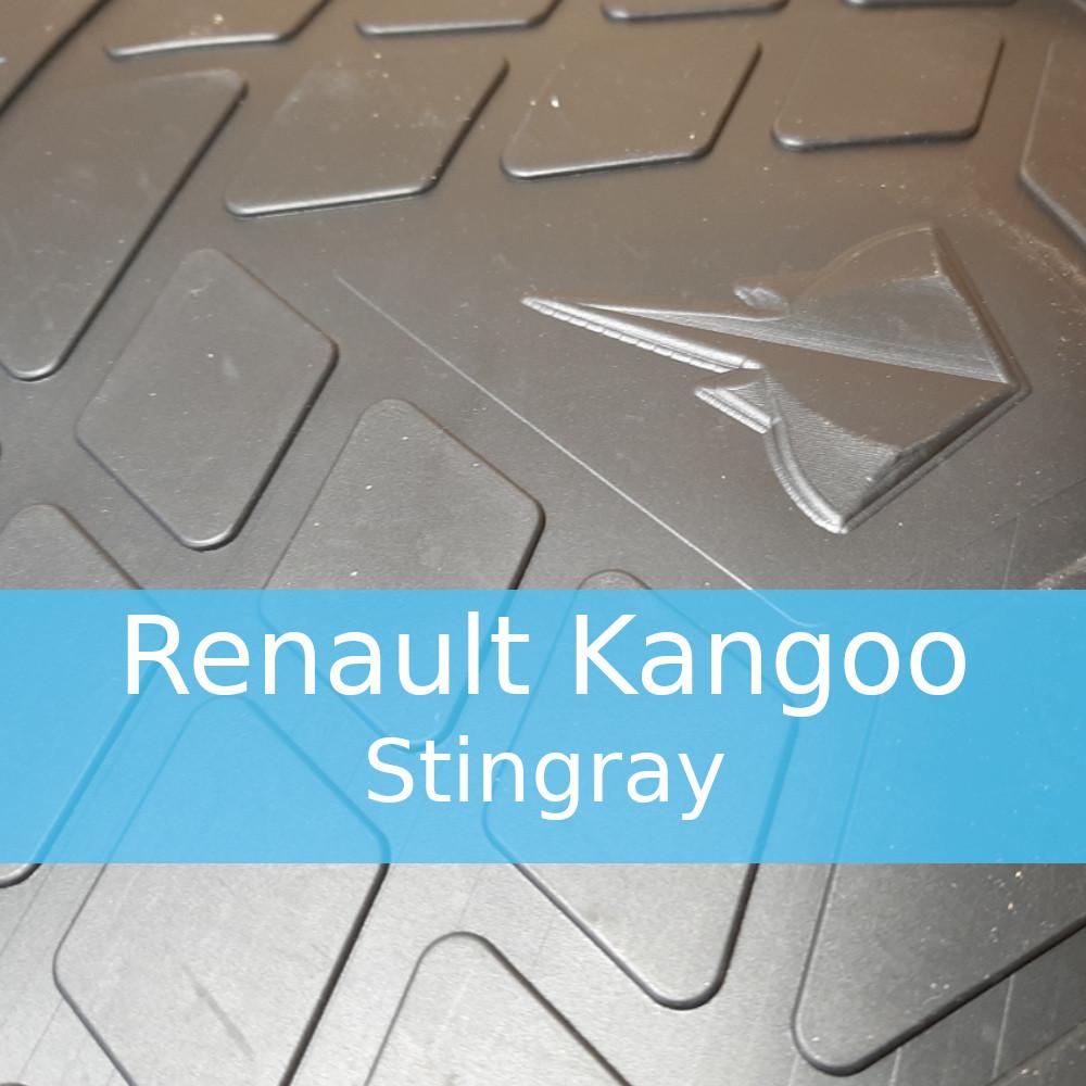 Резиновые коврики в автомобиль Renault Kangoo (Stingray)
