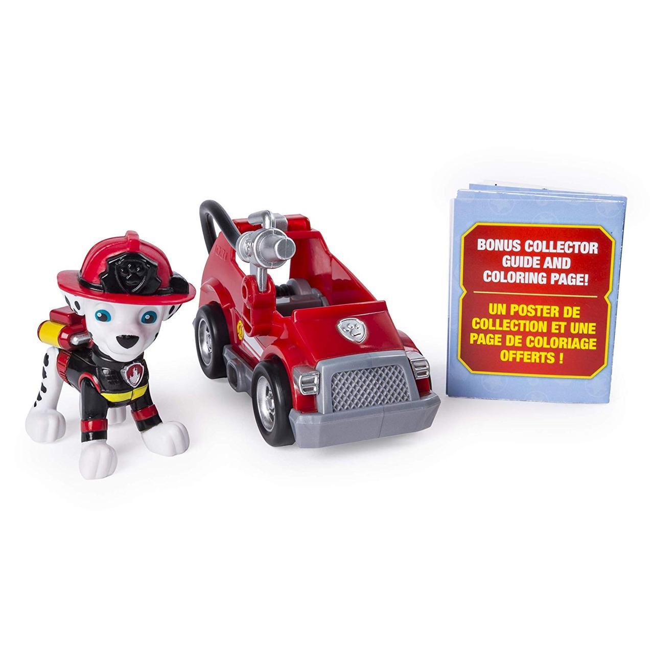 Щенячий патруль Маршал мини пожарная машина PAW Patrol Ultimate Rescue Marshall's Mini Fire Cart