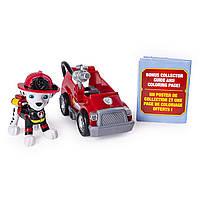 Щенячий патруль Маршал мини пожарная машина PAW Patrol Ultimate Rescue Marshall's Mini Fire Cart, фото 1