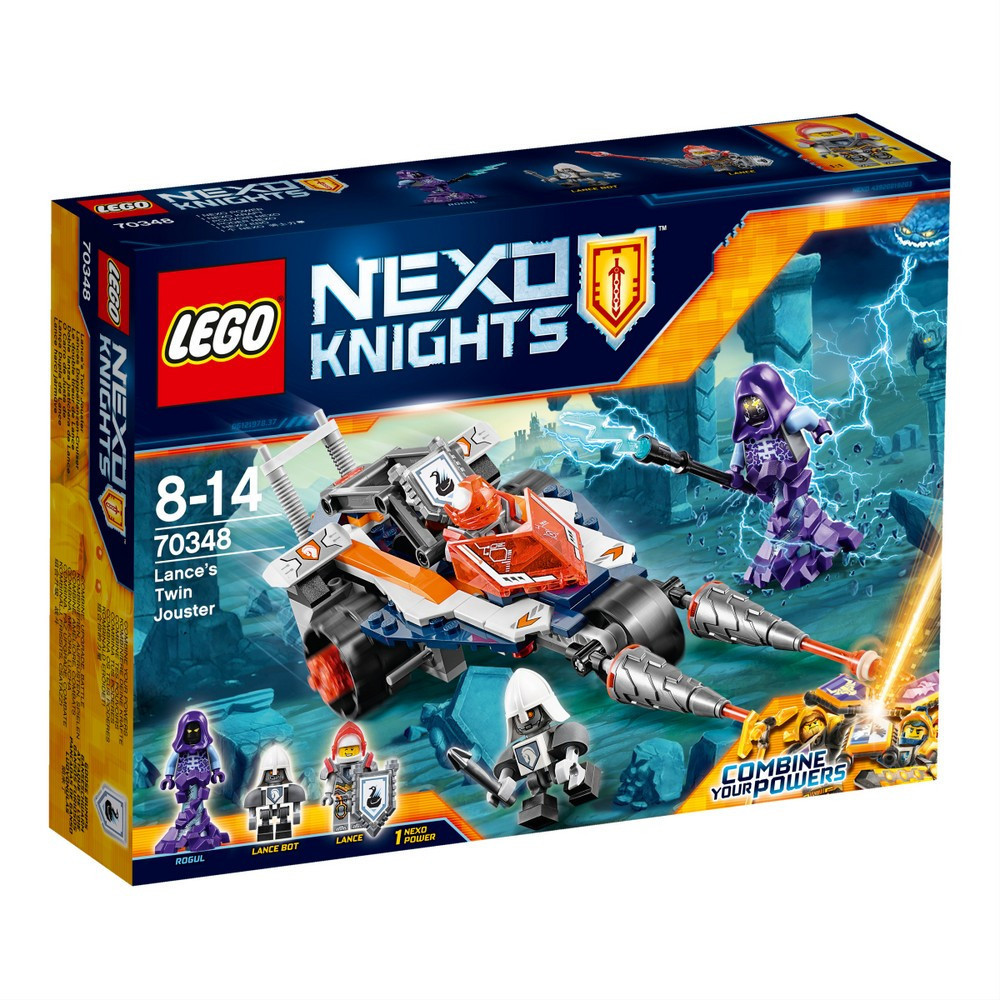 Lego Nexo Knights Турнирная машина Ланса 70348