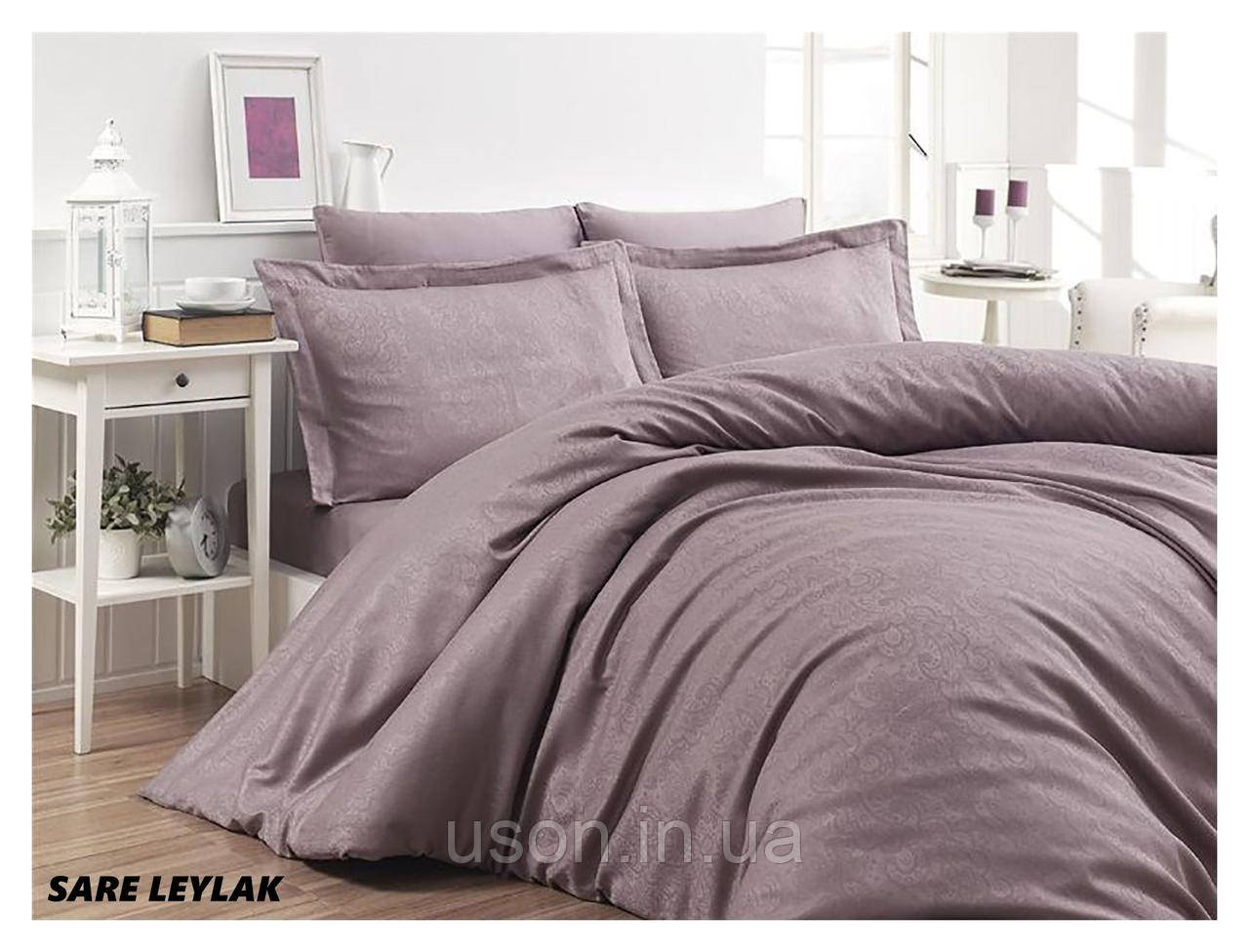 Комплект  постельного белья  жаккард First Choice SARE LEYLAK