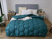 Тёплое одеяла на пуху (ЕВРО двуспальное)