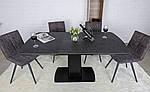 Стол Maryland (Мериленд) керамика черный (Бесплатная доставка), Nicolas, фото 3