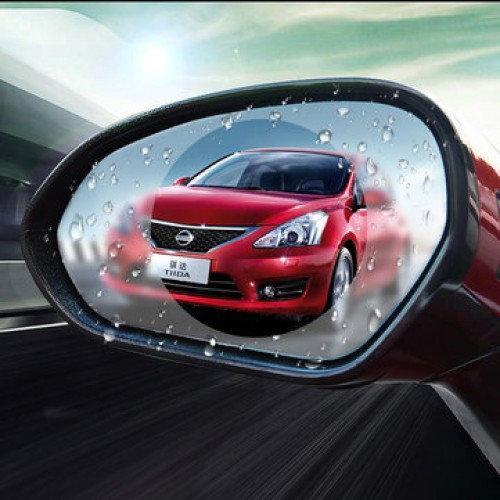 Антидождь пленка SUNROZ Anti-fog Film для автомобиля на боковое зеркало заднего вида 10 см