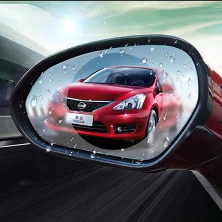 Антидождь пленка SUNROZ Anti-fog Film для автомобиля на боковое зеркало заднего вида 10 см, фото 2