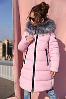 Детская зимняя курточка-пальто Викки  Nui Very