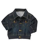 Дитяча джинсова куртка для хлопчика 12-18, 18-24 місяці