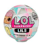 LOL Surprise Lils S6 Winter Disco ( ЛОЛ Сюрприз Маленькие Сестрички Зимнее диско Винтер Диско серия 6 )