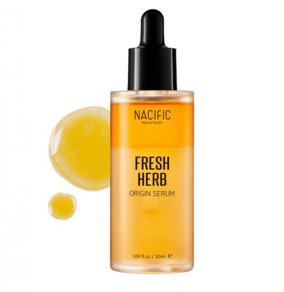 Освежающая органическая сыворотка для проблемной кожи NACIFIC Fresh Herb Origin Serum, 50 мл.