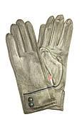 Перчатка женская F016  (уп.12 штук) Замш
