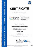 """Сертификаты качества ТМ """"BRIT"""""""