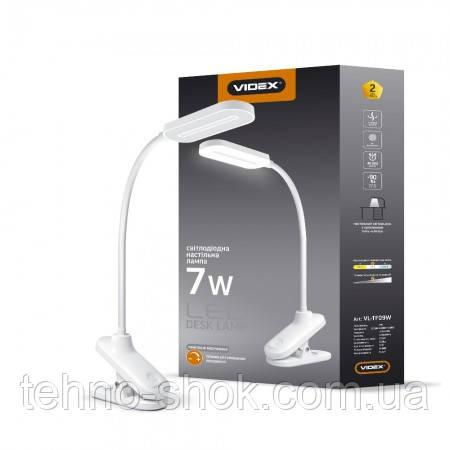LED лампа настольная VIDEX VL-TF09W 7W 3000-5500K 220V