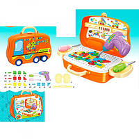 Мозаика 678-107A на шурупах,шуруповерт,чемодан на колесах,бат,карт.оберт,29-20-9,5см