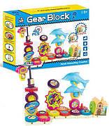 Конструктор Gear Block 9200 Шестеренки-Дельфины 40 деталей 3+