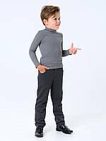 Гольф-стойка с отворотом для мальчика Смил, арт. 114668, возраст от 11 до 14 лет