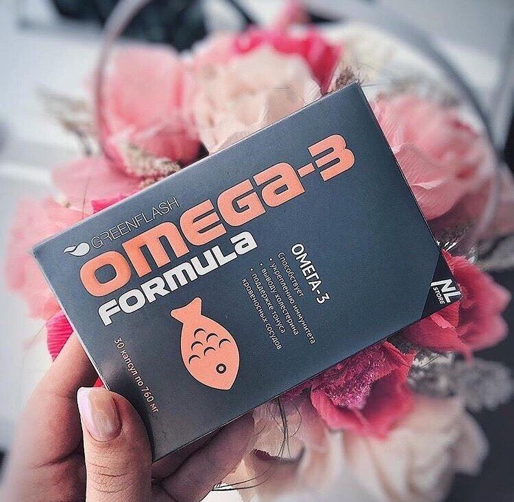 OMEGA-3  комплекс полиненасыщенных жирных кислот