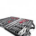"""Набір інструментів професійний, 1/4"""" & 1/2"""", 101од. INTERTOOL ET-7101, фото 5"""