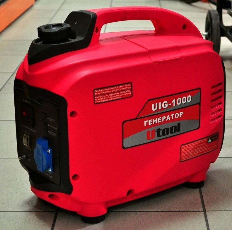 Инверторный генератор Utool UIG-1000 (1 кВт)
