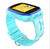 Умные детские часы с видеозвонком Tiroki Q500(DF33) 4G синие, фото 2