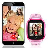 Умные детские часы с видеозвонком Tiroki Q500(DF33) 4G синие, фото 5