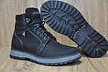 Зимние мужские высокие ботинки натуральный нубук и натуральный мех Maxus, фото 2