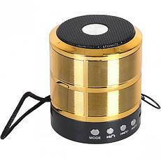 Колонка портативная MINI WS-887, 7×6,5 см, фото 2