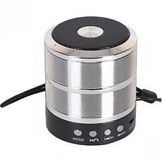 Колонка портативная MINI WS-887, 7×6,5 см, фото 3
