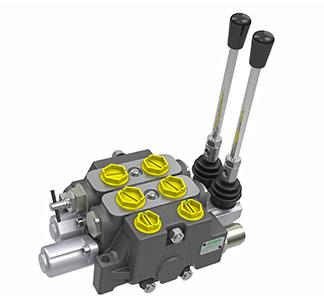 Секционный распределительный клапан с открытым центром MV050 (80л/мин) Hema Endustri A.S