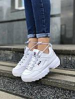 Женские кроссовки FILA из натуральной кожи