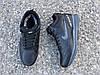 Мужские зимние кроссовки Nike Air Span ll черные реплика, фото 5