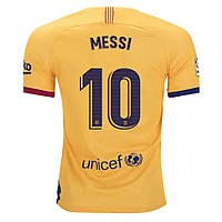 Футбольная форма Барселона MESSI 10  сезон 2019-2020 запасная желтая, фото 1