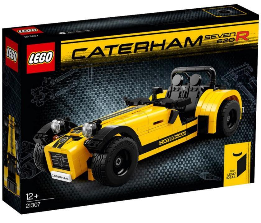 Lego Ideas Катерхем 7 620R V29 21307