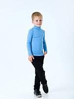 Гольф-стойка с отворотом для мальчика Смил, арт. 114667, возраст от 7 до 10 лет