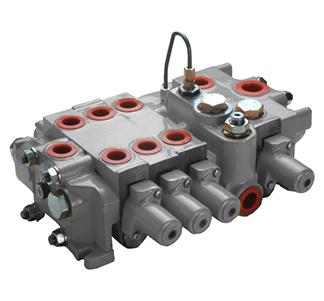 Секційний розподільний клапан з відкритим центром SV033 (150л/мін) Hema Endustri A. S