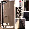 """Входная дверь для улицы """"Портала"""" (серия Концепт RAL) ― модель Мадрид 2, фото 4"""