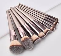 Набор кистей для макияжа 10 шт Rozi fansi оригинал, фото 1