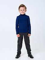Гольф-стойка с отворотом для мальчика Смил, арт. 114666, возраст от 2 до 6 лет