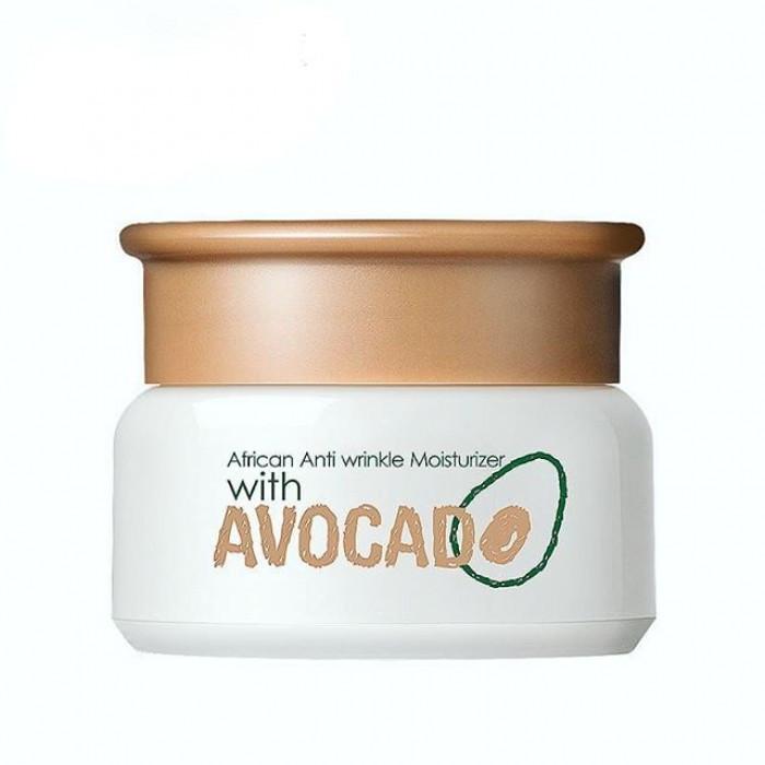 Крем увлажняющий для лица Laicou African Anti wrinkle Moisturizer with Avocado, с авокадо, 35 г