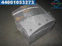 ⭐⭐⭐⭐⭐ Накладка тормоза (комплект на ось) 410x175 стандарт ВОЛЬВО F10,12,16,FH12,16 (производство  TRU)  1993800DP