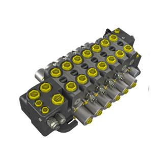 Секционный распределительный клапан с разделением потока МV183 (180л/мин) Hema Endustri A.S