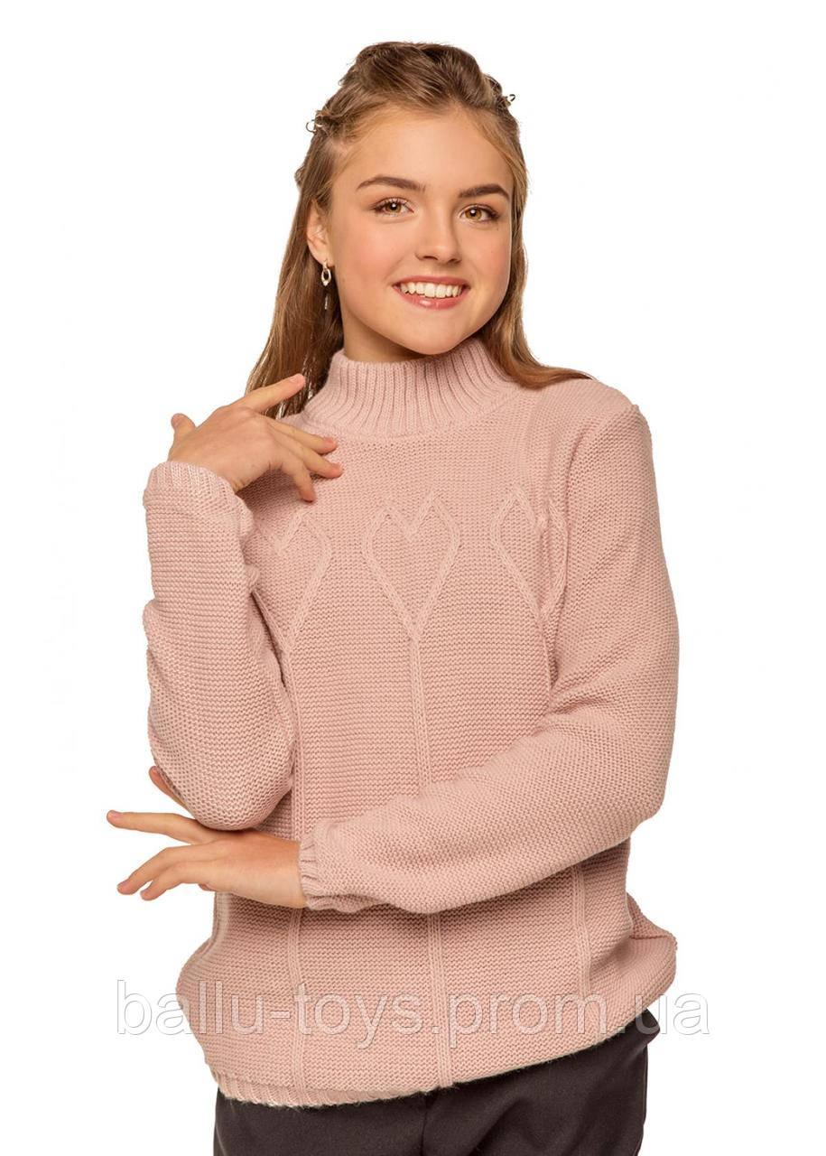 Теплый свитер для девочки Эмми (7-12 лет)