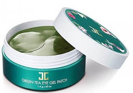 Гидрогелевые патчи с зеленым чаем Jayjun Green Tea Eye Gel Patch, 60 шт., фото 2