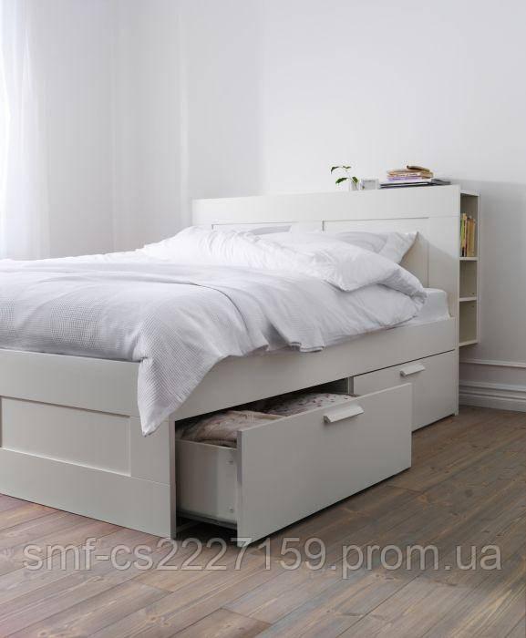 Фабіо Біле дерев'яне ліжко 120*200 У НАЯВНОСТІ