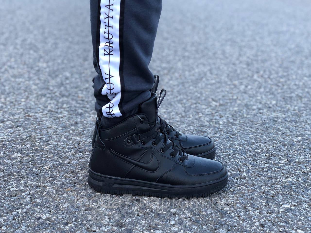 Мужские зимние кроссовки Nike Air Force реплика