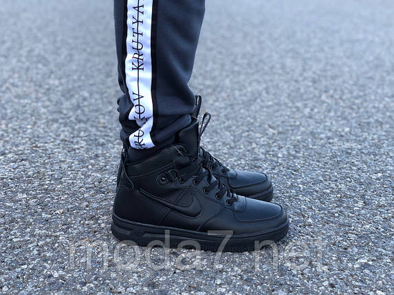 Мужские зимние кроссовки Nike Air Force реплика, фото 2