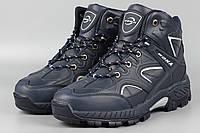 Ботинки мужские мех синие Bona 729W-6 Размеры 41 43 44 46, фото 1