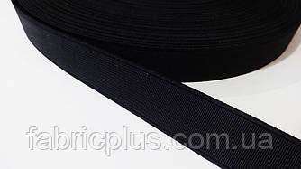 Резинка обувная 2 см черная Турция
